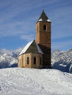 Santa Caterina church, Avelengo, Trentino Alto Adige, Italy