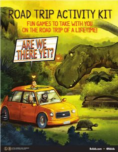 Are We There Yet Activity Kit