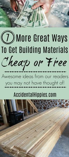 We gathered the best suggestions from our readers to give you even MORE ways to save big on your building project. I wish we had done waaay more of number 3...