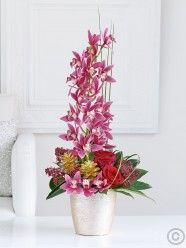 Modern and elegant, perfectly balanced and yet full of contrasts – here we've created something very unique and special. Christmas Flower Delivery, Best Flower Delivery, Online Flower Delivery, Flower Delivery Service, Christmas Garden, Christmas Flowers, Valentines Flowers, Mothers Day Flowers, Online Flower Shop