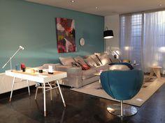 BoConcept Cenova sofa & Cupertino desk