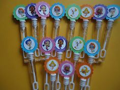 bubble guppies party | 16-BUBBLE-GUPPIES-party-favors-bubble-wands-Bubble-Guppies-Birthday ...