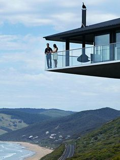 'Pole House', by F2 Architecture  Fairhaven beach, Australia.