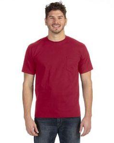 Anvil Midweight Pocket T-Shirt 783AN
