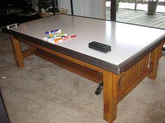 DIY Dry Erase Tabletop Turns Any Table Into A Polished Whiteboard | Lifehacker Australia