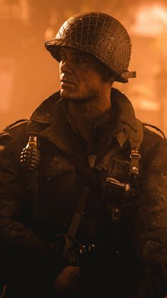 Call of Duty WWII, Call of Duty, Call of Duty Infinite Warfare, Playstation 4 Wallpaper for Android [Full HD], Movies Background and Image Battlefield Games, Black Ops Zombies, Cod Ww2, Call Of Duty World, Black And White Hats, Go Game, Band Of Brothers, War Photography, World War One