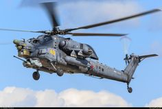 """Russian Mi-28N """"Havoc""""."""