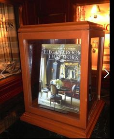 """Thanks to the fabulous D & D Building for featuring my book """"Elegant Rooms That Work"""" in their lobby!  www.stephaniestokesinc.com"""