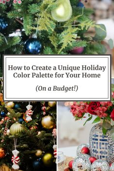 How to Create a Unique Holiday Color Palette for Your Home – On a Budget! Christmas Fashion, Christmas Holidays, Christmas Bulbs, Christmas Decorations, Holiday Decor, Eclectic Design, Eclectic Decor, Learn Interior Design, Interior Ideas
