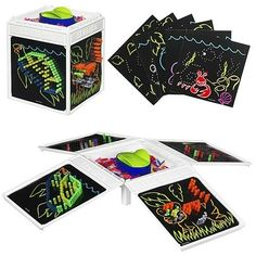 Lite Brite Four Share Cube « Delay Gifts