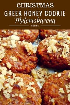 Melomakarona Greek Honey Cookie Melomakarona, the most popular Greek Christmas Cookie! Get the authentic recipe for this juicy, decadent and delicious Greek Christmas honey cookie. Greek Cookies, Honey Cookies, Greek Sweets, Greek Desserts, Melomakarona Recipe, Greek Christmas, Chinese Christmas, Christmas 2019, Mediterranean Desserts