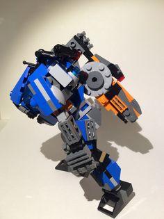 Lego TitanFall 2. Ion Prime. Lego Titanfall, Lego Mecha, Lego Creations, Legos, Robot, Toys, Activity Toys, Lego, Clearance Toys