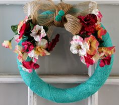 A Spring Wreath That Will Make You Smile | Love My Simple Home