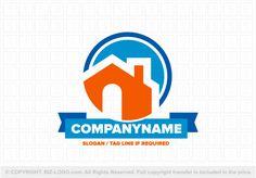Pre-designed logo 4038: Cute Home Logo