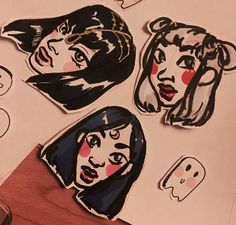 sorry for all the mediocre stickers but making these are so much fun | credit: @rohinicupcake