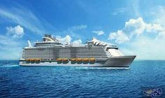"""سفينة """"سيمفوني أوف ذا سيز"""" مدينة عائمة لأكثر الرحلات البحرية فخامة: تحتل سفن الرحلات البحرية الصدارة في سباق الحجم والقوة بين روائع الهندسة…"""