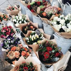 Oh my gosh this is so pretty! Bunches of flowers all around