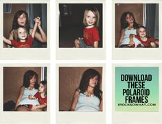 IROCKSOWHAT: Free Polaroid frames for DOWNLOAD!