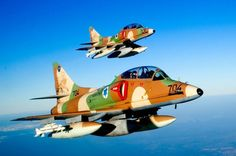 .._Israel Air Force. A-4 Skyhawk 60th Anniversary |