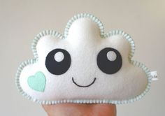 Cloud Softie Cloud pillow Baby Decor Nursery Decor by LilyRazz