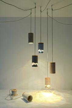 Dragos Motica's Slash Lamp is designed to be broken