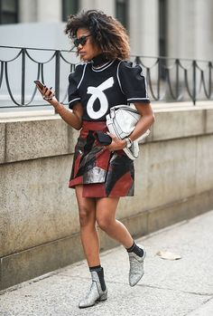 CHECK OUT MY BOARD CALLED  BG STREET STYLE/BG'S HAVE STREET STYLE TOO:GERMAINE/  New York Fashion Week Spring 2017 on September 10 2016 in New York City/Daniel Zuchnik #BGSTREETSTYLE