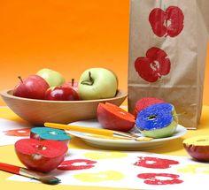 Easy apple craft idea!