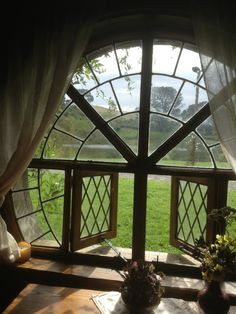View from the Green Dragon, Hobbiton, NZ