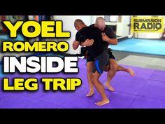 How to do a Yoel Romero Inside Leg Trip Takedown | MMA Wrestling Combat ...