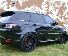 Black Range Rover Sport