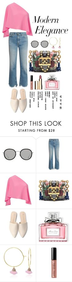 """Body, Mind, & Seoul"" by tag-noheuer ❤ liked on Polyvore featuring Linda Farrow, Golden Goose, Roland Mouret, Burberry, Christian Dior, C.J.M, Bobbi Brown Cosmetics, Clarins, StreetStyle and trend"