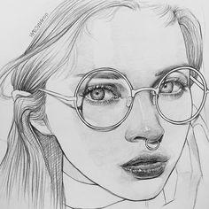 Yaptığım en güzel karakalem | karakalem | Art, Art ...