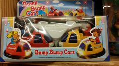Vintage Bump Bump Cars Battery Operated Bump-N-Go Action by BlingAndBlueJeans on Etsy