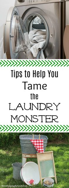 These laundry tips will help you tame the laundry monster once and for all! Laundry | Laundry Tips | Laundry Hacks | Laundry Monster | Laundry Ideas| Laundry Help |Housekeeping | Housekeeping Tips | Housekeeping Hacks #Laundry #Laundry Tips