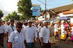 Balinese Men at Ubud, Bali