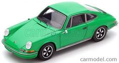 SPARK-MODEL S4925 Scale 1/43  PORSCHE 911S 2.4 901 COUPE 1972 GREEN
