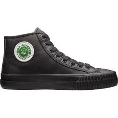 @Overstock.com - PF Flyers Center Hi Sandlot Leather - Recall your days circling the bases with these black leather sneakers that faithfully recreate the iconic footwear from the 1950s. The Center Hi features the same outsole and toe bumper of the original PFs, and you'll be back to the sandlot in no time.  http://www.overstock.com/Clothing-Shoes/PF-Flyers-Center-Hi-Sandlot-Leather/7937399/product.html?CID=214117 $59.95