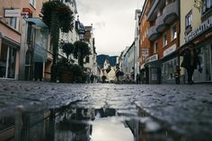 Rainy streets in Fussen | Flickr - Photo Sharing!