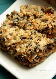 Mushroom Casserole - Gluten Free