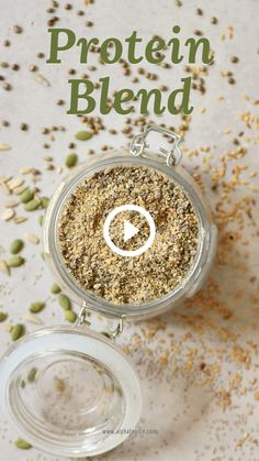 Healthiest Protein Powder, Plant Based Protein Powder, Vegan Protein Powder, Protein Powder Recipes, Protein Shake Recipes, Protein Blend, Natural Protein Powder, Raw Food Recipes, Indian Food Recipes