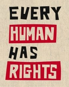 Today is Human Rights Day. This is a day to remind us of how far we have come in protecting human rights, and also, how much more work we need to do to safeguard human rights for everyone. #respect