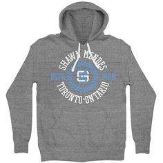 Shawn Mendes SM Toronto University Hoodie ($45) ❤ liked on Polyvore featuring tops, hoodies, hoodie top, hooded pullover, sweatshirt hoodies and hooded sweatshirt