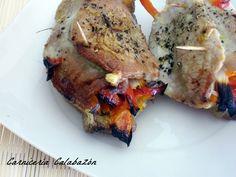Lomo de cerdo relleno de verduras