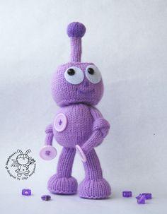 Image result for knitting robot pattern
