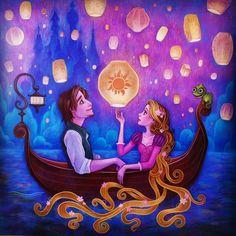 Tangled. Disney art