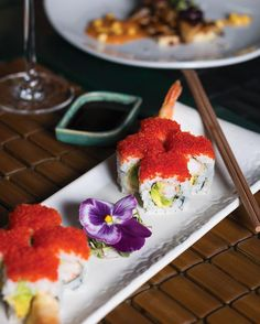 sushi @ Ikibana Borne #Barcelona