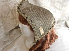 Never Worn mid 1800's French Spoon Bonnet