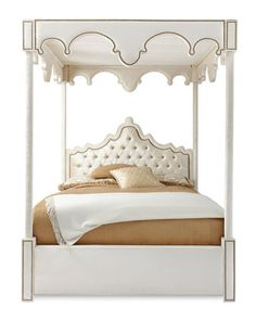 "William Canopy Bed by Haute House at Horchow | 91""h 