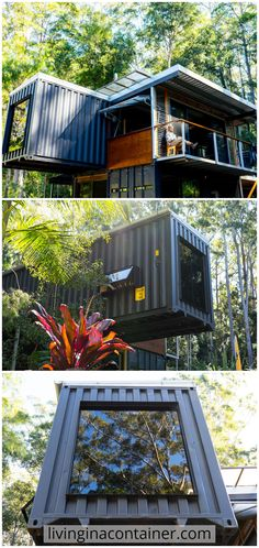 Cargo Container Homes, Container Buildings, Container Architecture, Pavilion Architecture, Container House Plans, Container House Design, Shipping Container Homes, Tiny House Design, Sustainable Architecture