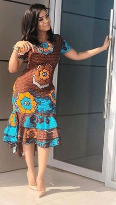 African fashion modern - Newest Short Ankara Gown 2019 – African fashion m. - Women's style: Patterns of sustainability African Fashion Ankara, Latest African Fashion Dresses, African Print Fashion, Africa Fashion, Short African Dresses, Ankara Short Gown Styles, African Print Dresses, African Prints, African Dress Styles